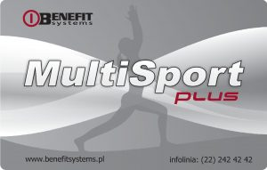 karta Benefit MultiSport Plus Kraków