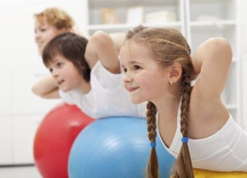 dzieci na fitness Atlantic