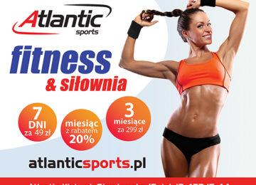 promocje fitness siłownia atlantic